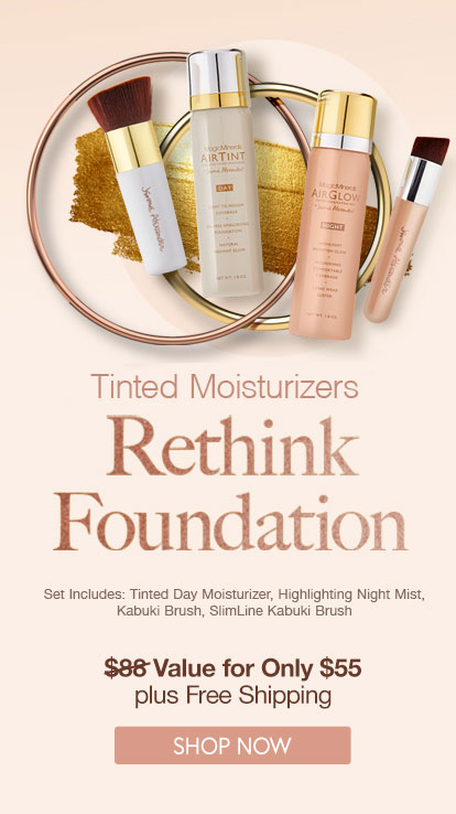 tinted moisturizers, tinted foundation, airtint, airglow, foundation