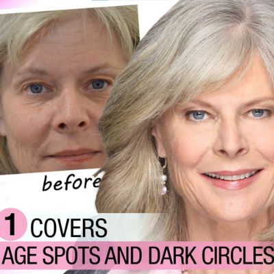 MagicMinerals Covers Age Spots and Dark Circles